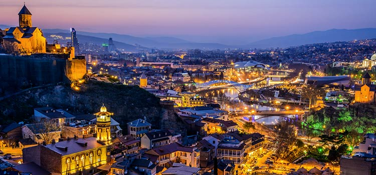 1 день Тбилиси.