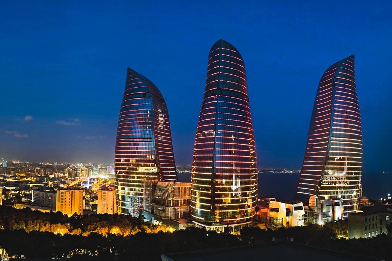 1 день. Перелёт Киев - Баку.