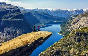 Язык Тролля. Норвегия