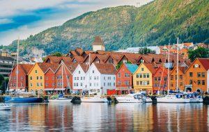 Берген. Норвегия
