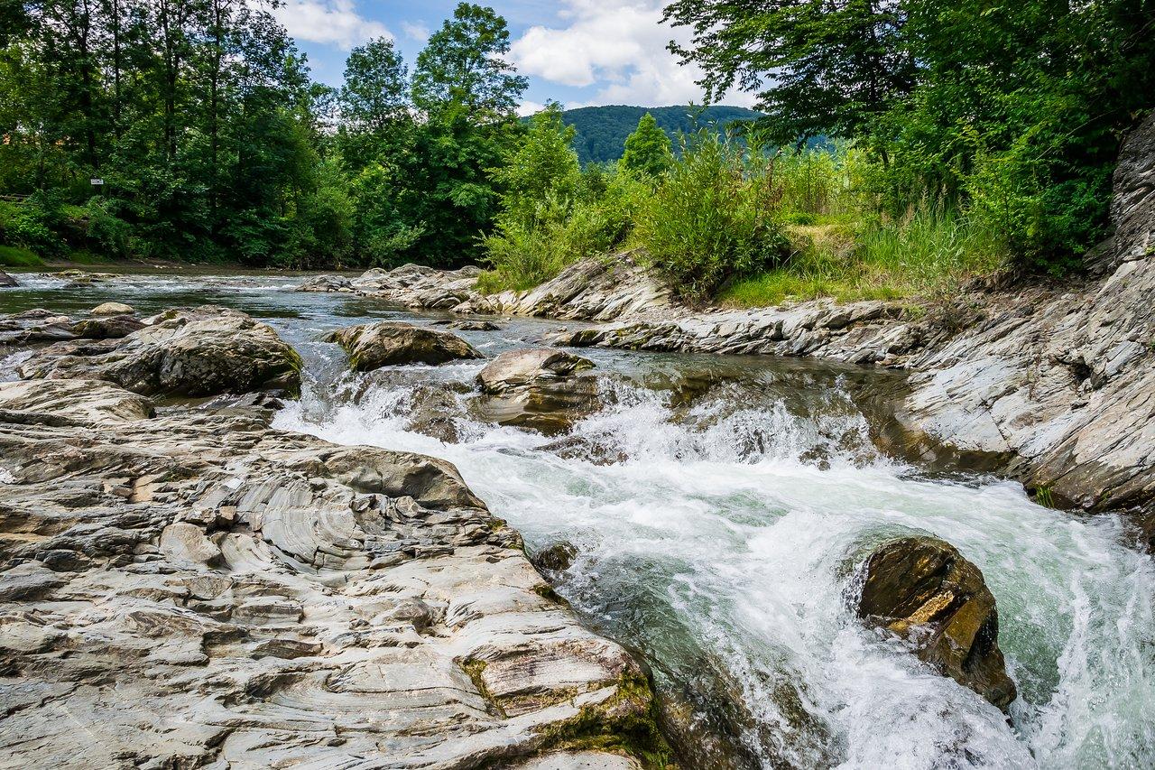 8 день Косов-Шешорские водопады-Озеро Лебедин