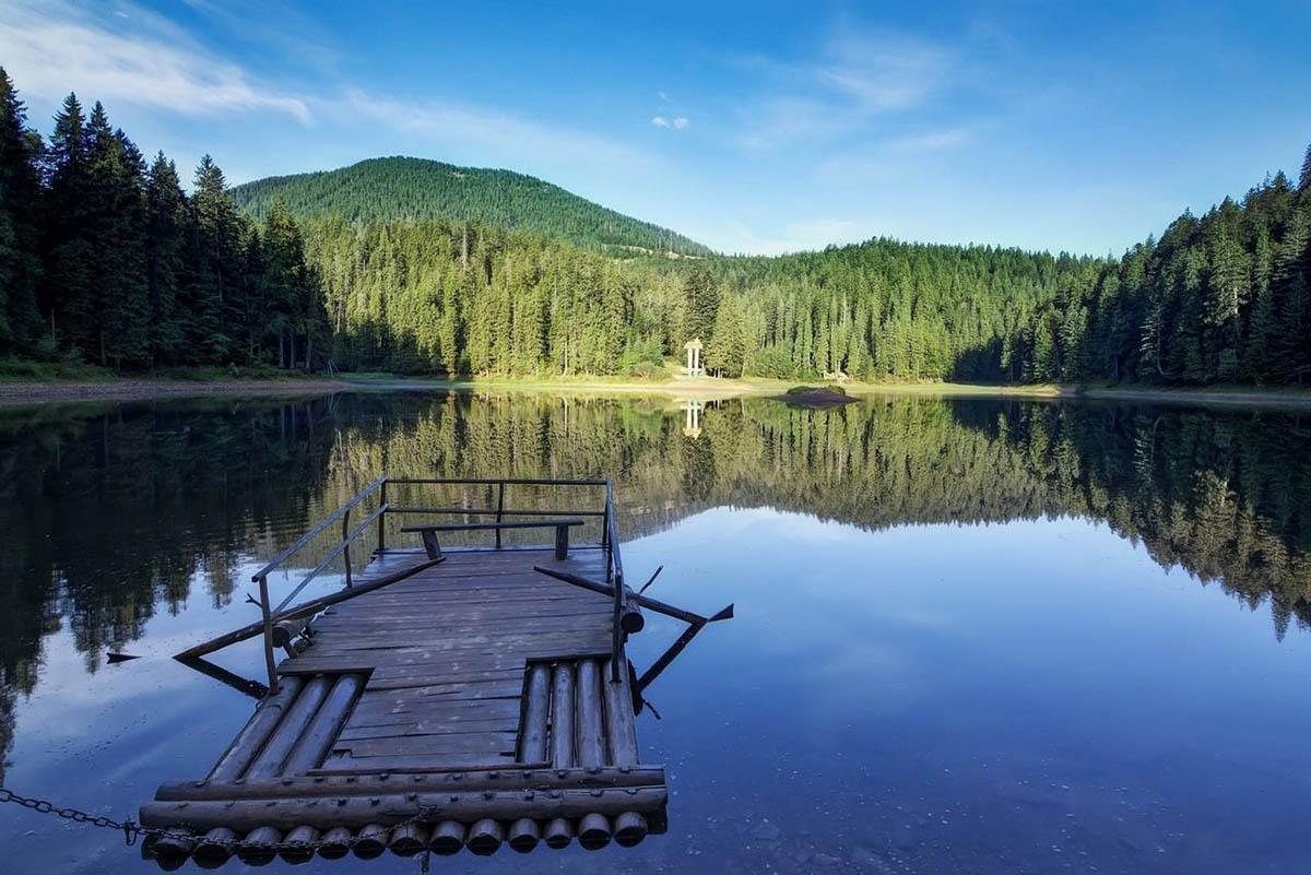 12 день Межгорье-озеро Синевир-реабилитационный центр для медведей