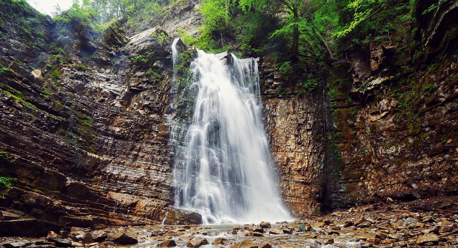 6 день «Карпатские водопады»